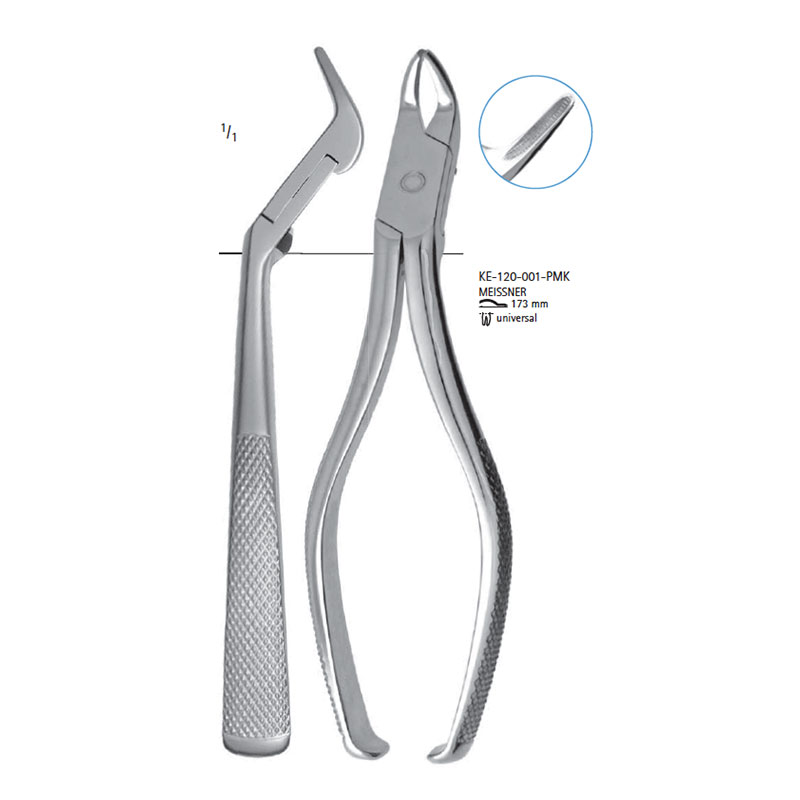 Extracting forceps # MEISSNER