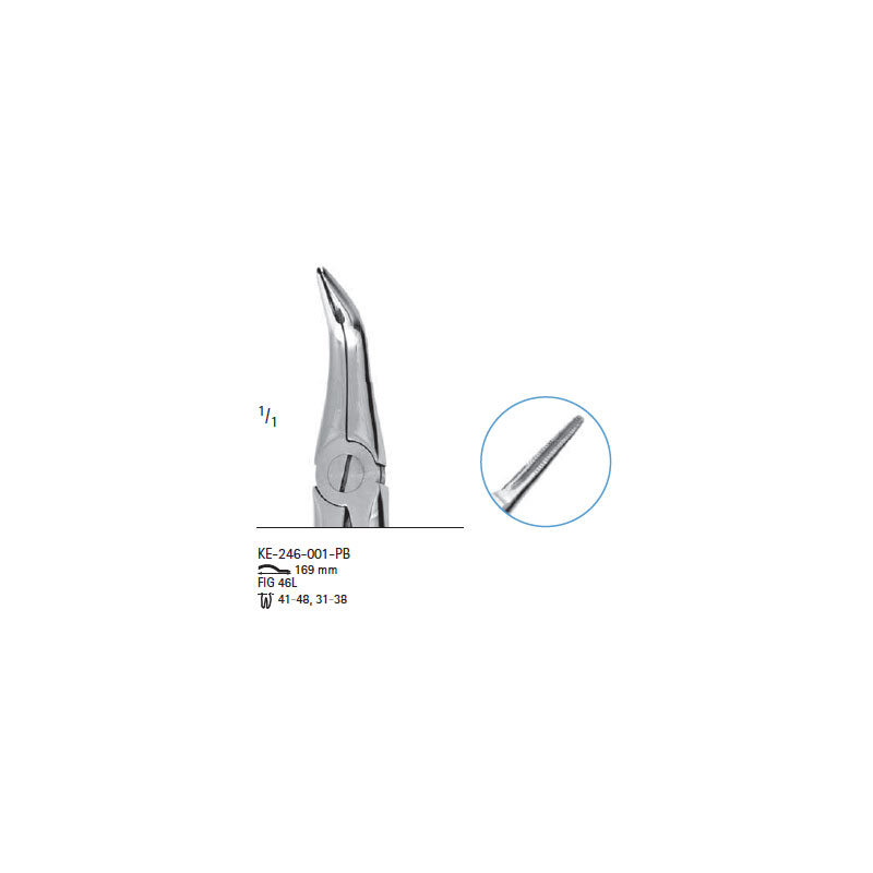 Extracting forceps # fig.46L
