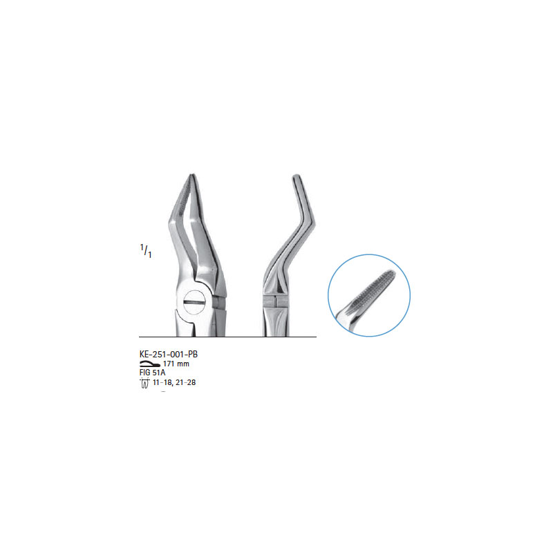 Extracting forceps # fig.51A