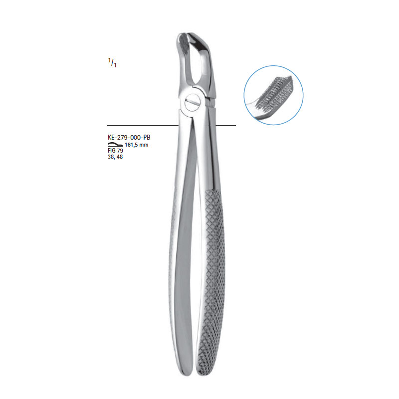 Extracting forceps # fig.79