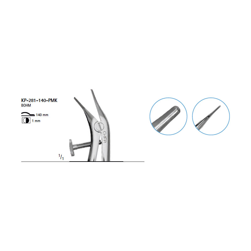 Crown and band forcep
